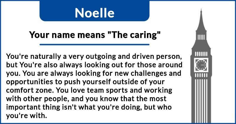 My Name Means The Caring What Does Your Name Really Mean How