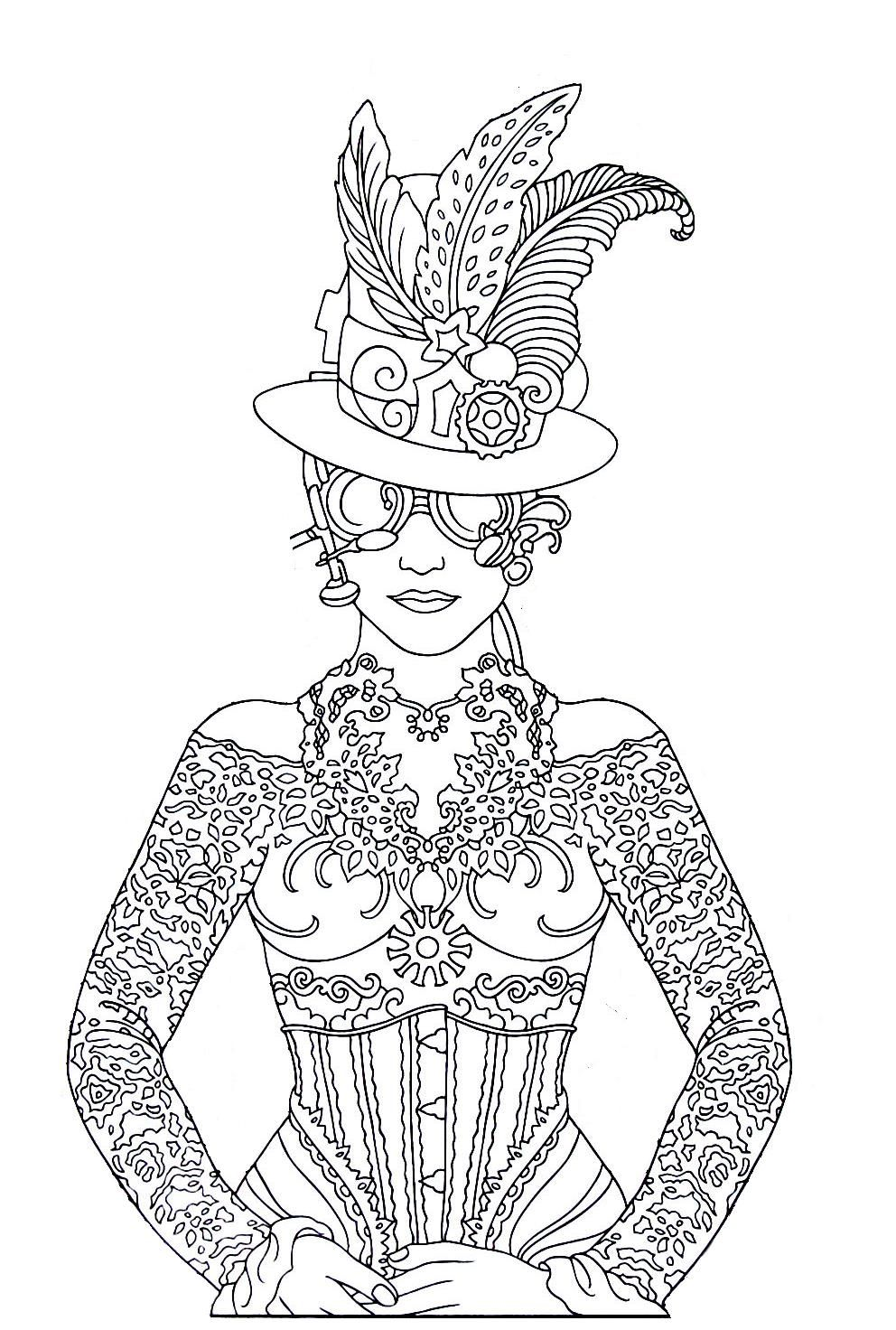 medium coloring pages - photo#36