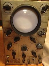 Vintage Hickok Cathode Ray Oscilloscope Model 195 - Untested