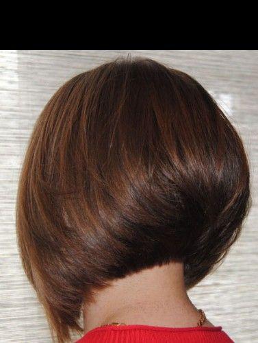 Стрижка боб каре на ножке волосы фото вид сзади