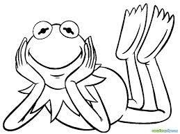 Kleurplaten Kermit De Kikker.Miss Piggy Coloring Pages Google Search The Muppets