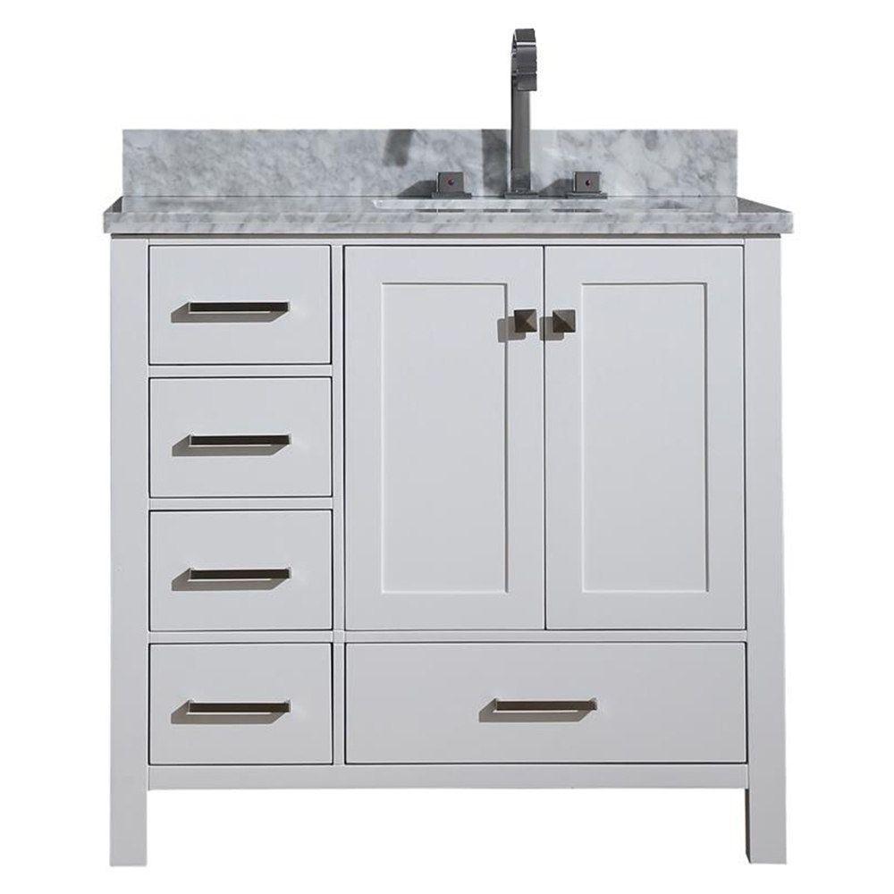 Overstock Com Online Shopping Bedding Furniture Electronics Jewelry Clothing More Marble Vanity Tops Single Sink Vanity Rectangular Sink Bathroom [ 1000 x 1000 Pixel ]