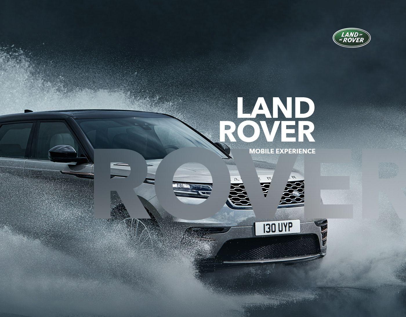Land Rover App on Behance