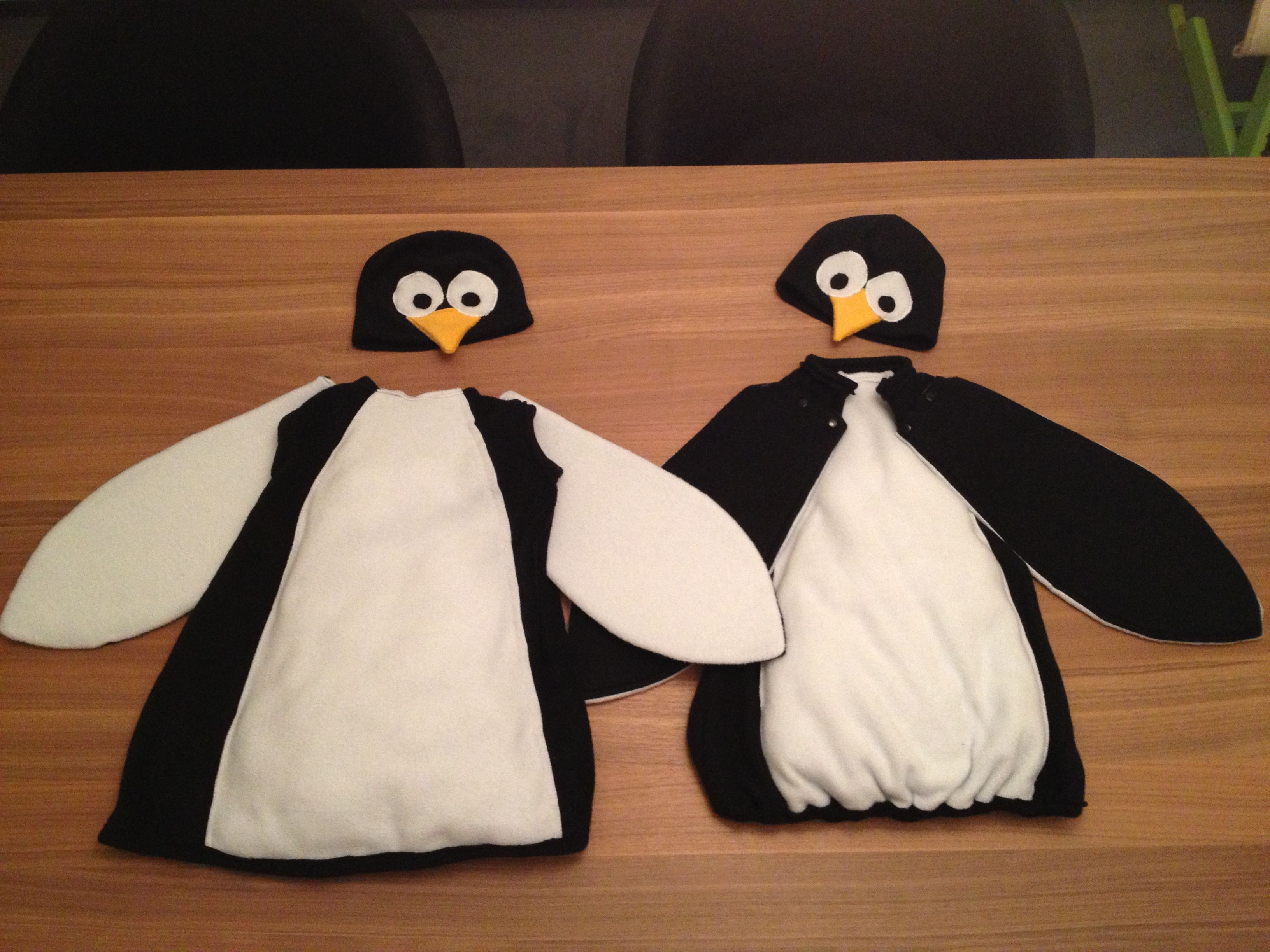 Pingouin Mary Poppins Pinguin Kostüm Selfmade Costumes Halloween Sewing