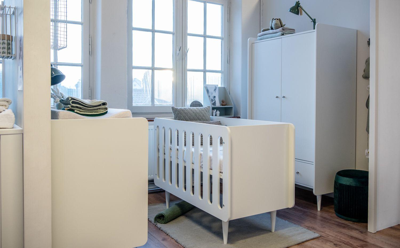 Ruime Lichte Babykamer : Door je lichte babykamer aan te kleden met een verloop van