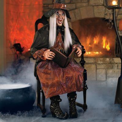 Haunted History Grandin Road Blog Animated Witch Grandin Road Halloween Creepy Halloween Props