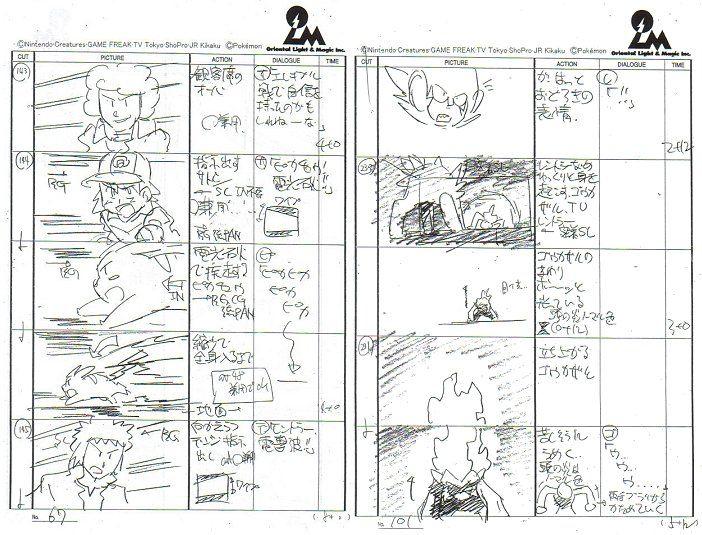 Resultado De Imagem Para Storyboard Pokemon  Storyboard