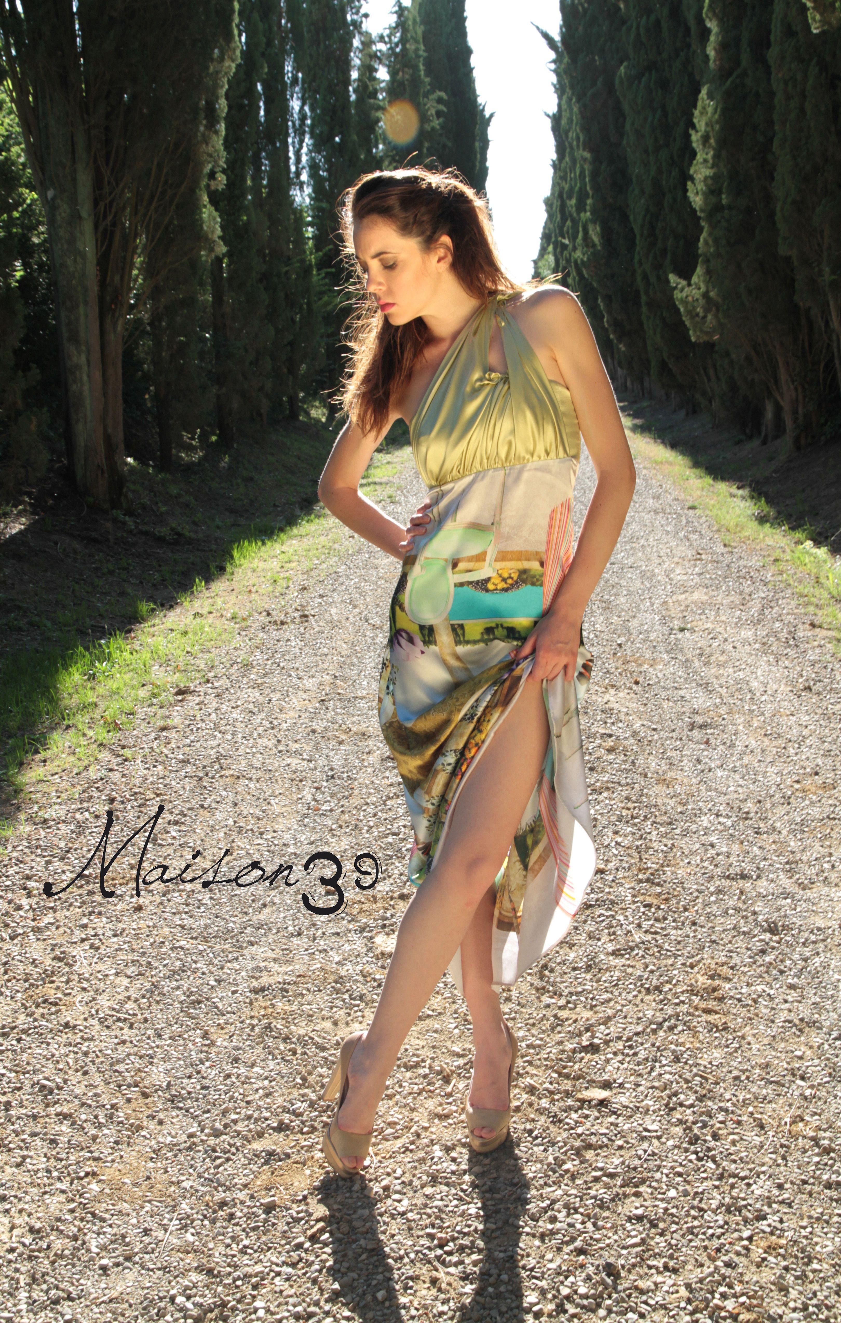 #abito lungo Sara Tassi #Maison 39
