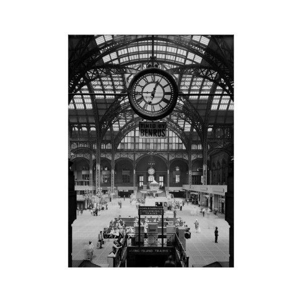 Penn Station New York City Vintage Circa 1900 Poster (330 NOK ...