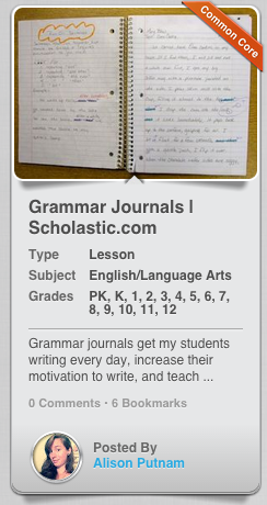 Grammar journals get my students writing every day, increase their motivation to write, and teach grammar through practical application. Lately, we have been consuming more class time on Common Core writing, which is good, but I started questioning myself. Were my students writing enough to develop the writing fluency skills they need to pass state assessments?
