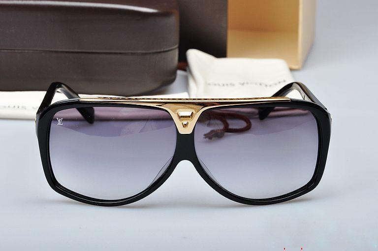 ab4276a6cc6e6 Black Sunglasses for Women. Louis Vuitton Evidence