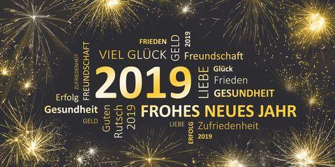 Neujahrswunsche 2019 Silvester Bilder Neujahrsrede Und Frohes Neues Jahr