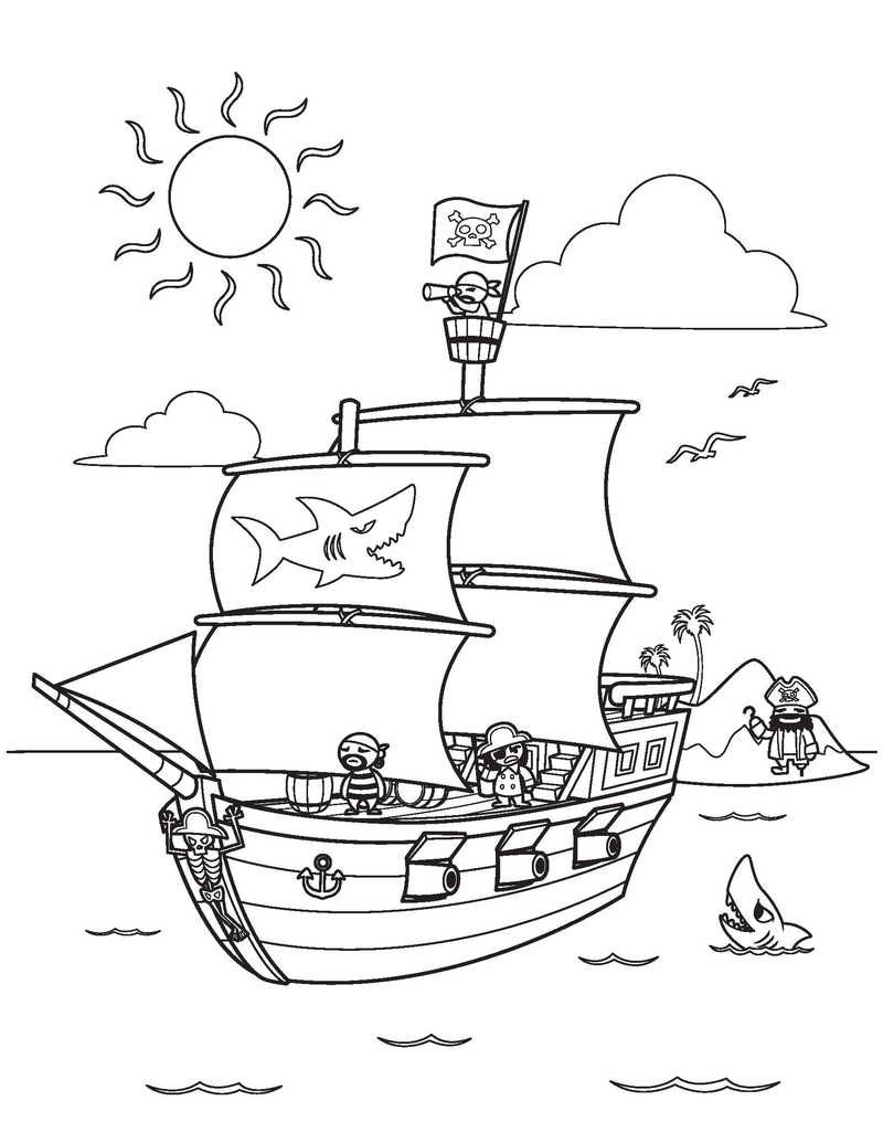 Printable Boat Coloring Pages Free Coloring Sheets Pirate Coloring Pages Coloring Pages Coloring Pages For Kids