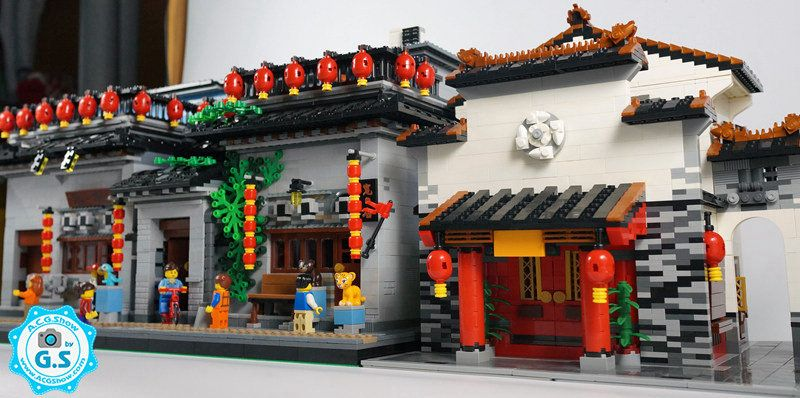Lego Chinese Wind Architecture Kuang Dian Lego Projects Lego Worlds Lego Ninjago City