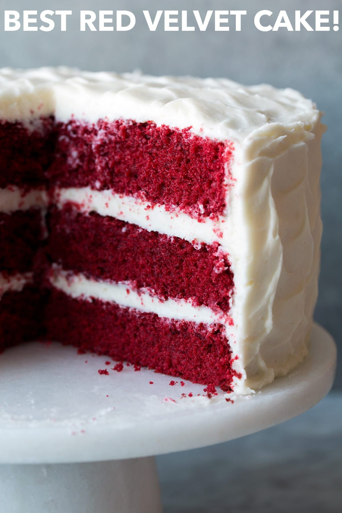 Red Velvet Cake With Cream Cheese Frosting Cooking Classy Velvet Cake Recipes Best Red Velvet Cake Red Velvet Cake Recipe