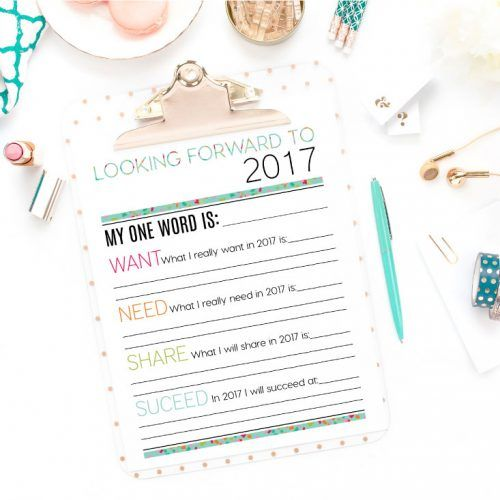 Printables, New Years Eve