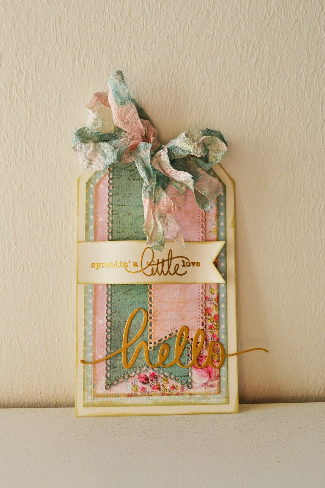 Happymade: DT-dag hos Card and Scrap - Spreadin' a little love