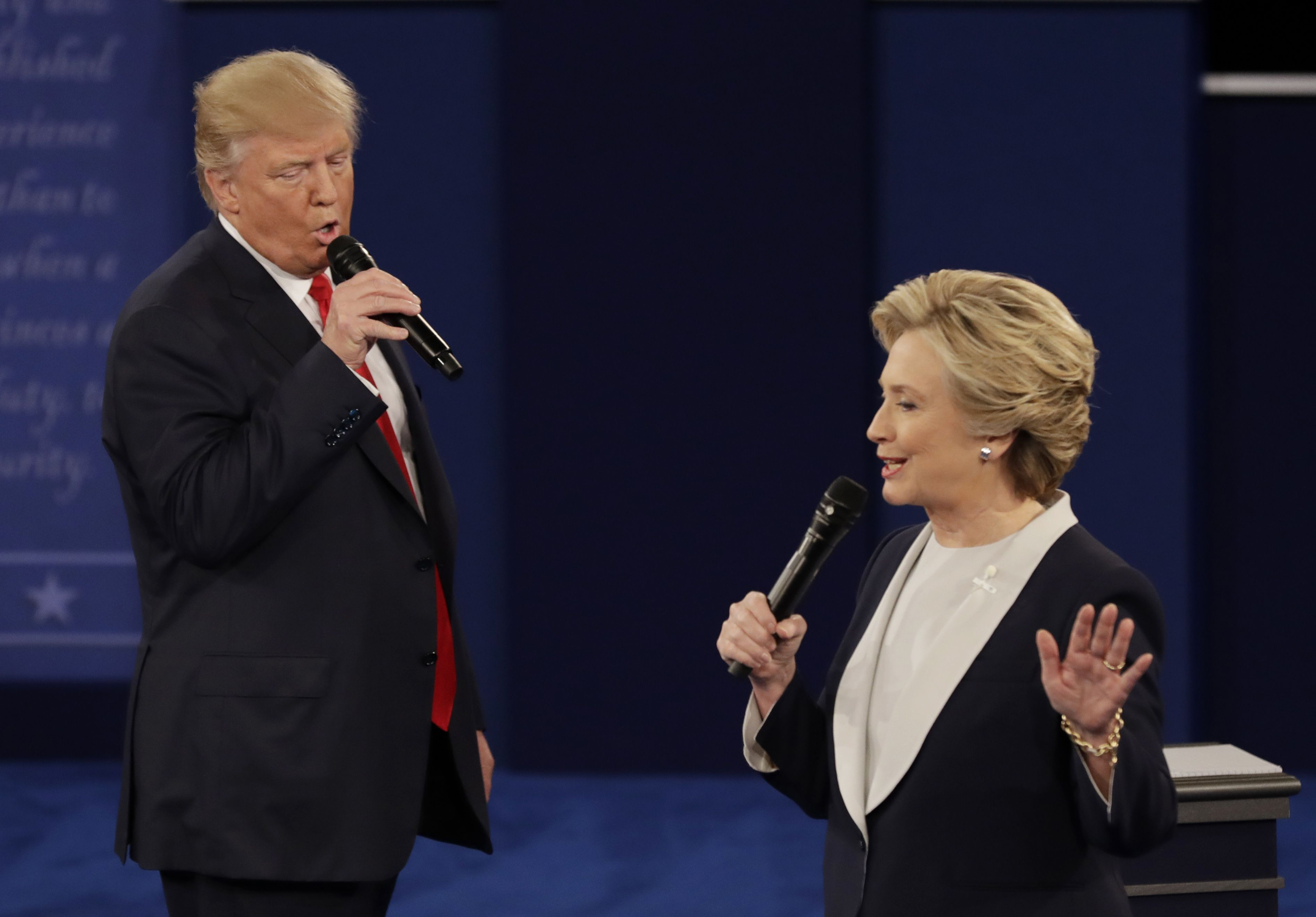 Presidential debate donald trump v hillary clinton read transcript