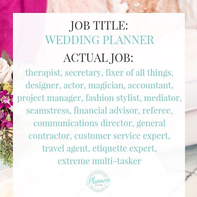Story Wedding Planner Designer Coordinator Difference: Alright Planner Friends Do You Agree? If So Feel Free To