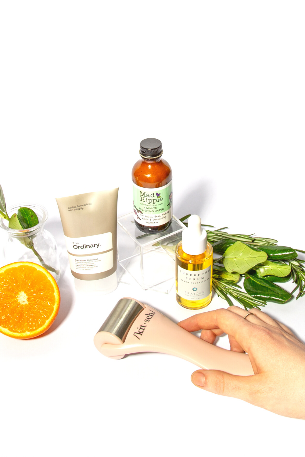 Our beauty favourites The Ordinary, Mad Hippie, Graydon