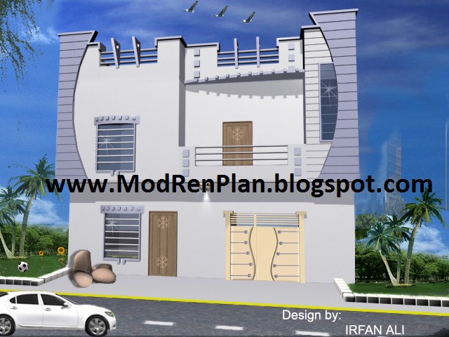 4 marla front elevation architect front elevation for Architecture design house in pakistan