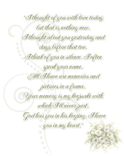 Poem I M Putting In The Wedding Program Memory Of Mine And Seth Grandpas