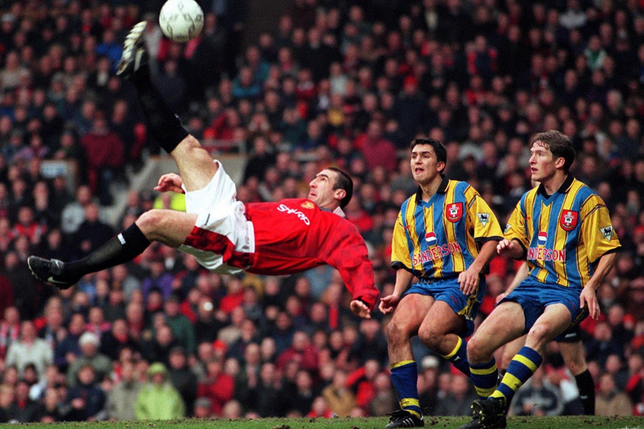 United Focus Come In Number Seven Eric Cantona Manchester