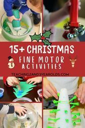 15 fun Christmas motor activities 15 fun Christmas motor activities