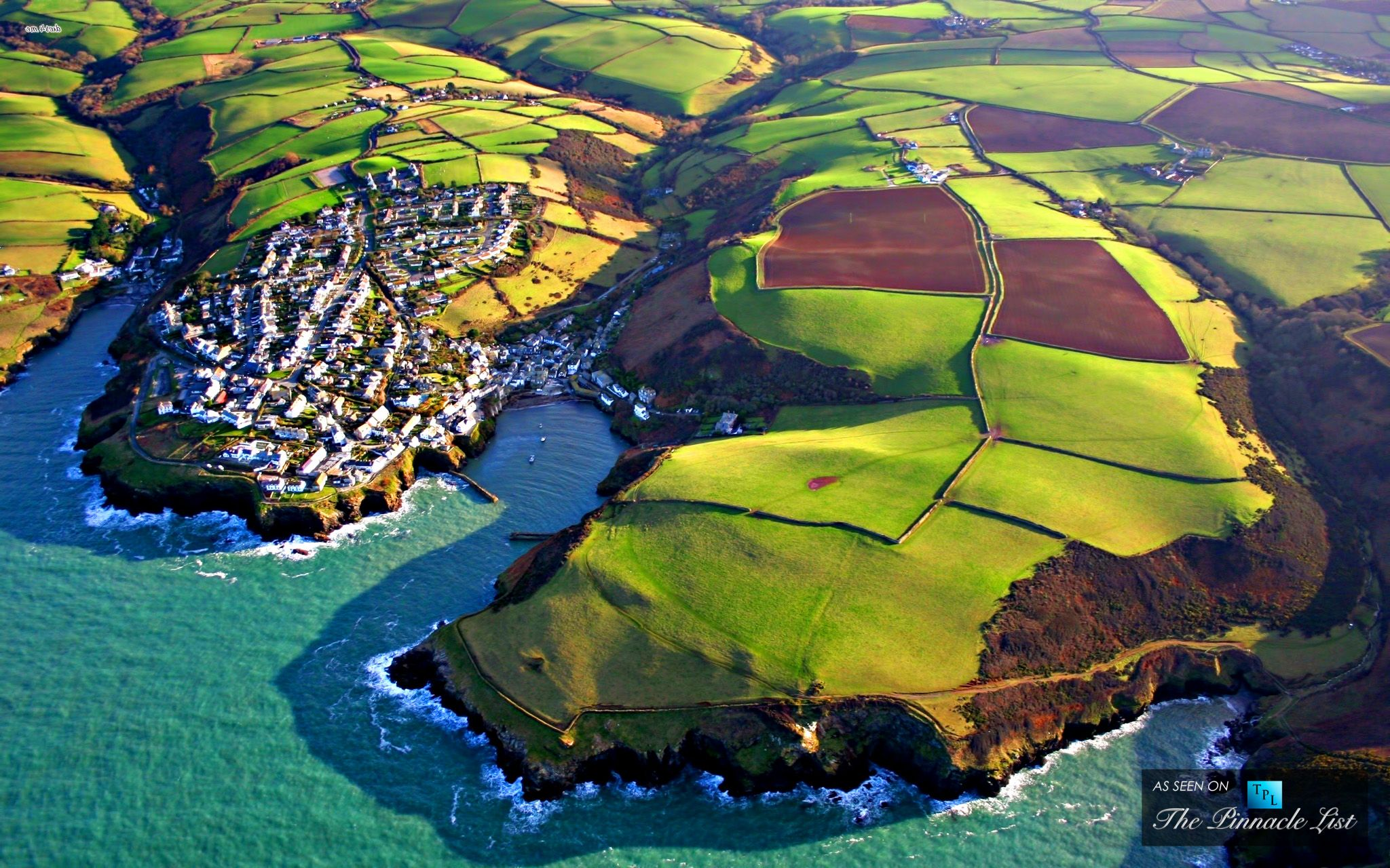 A Picturesque Fishing Village On The Atlantic