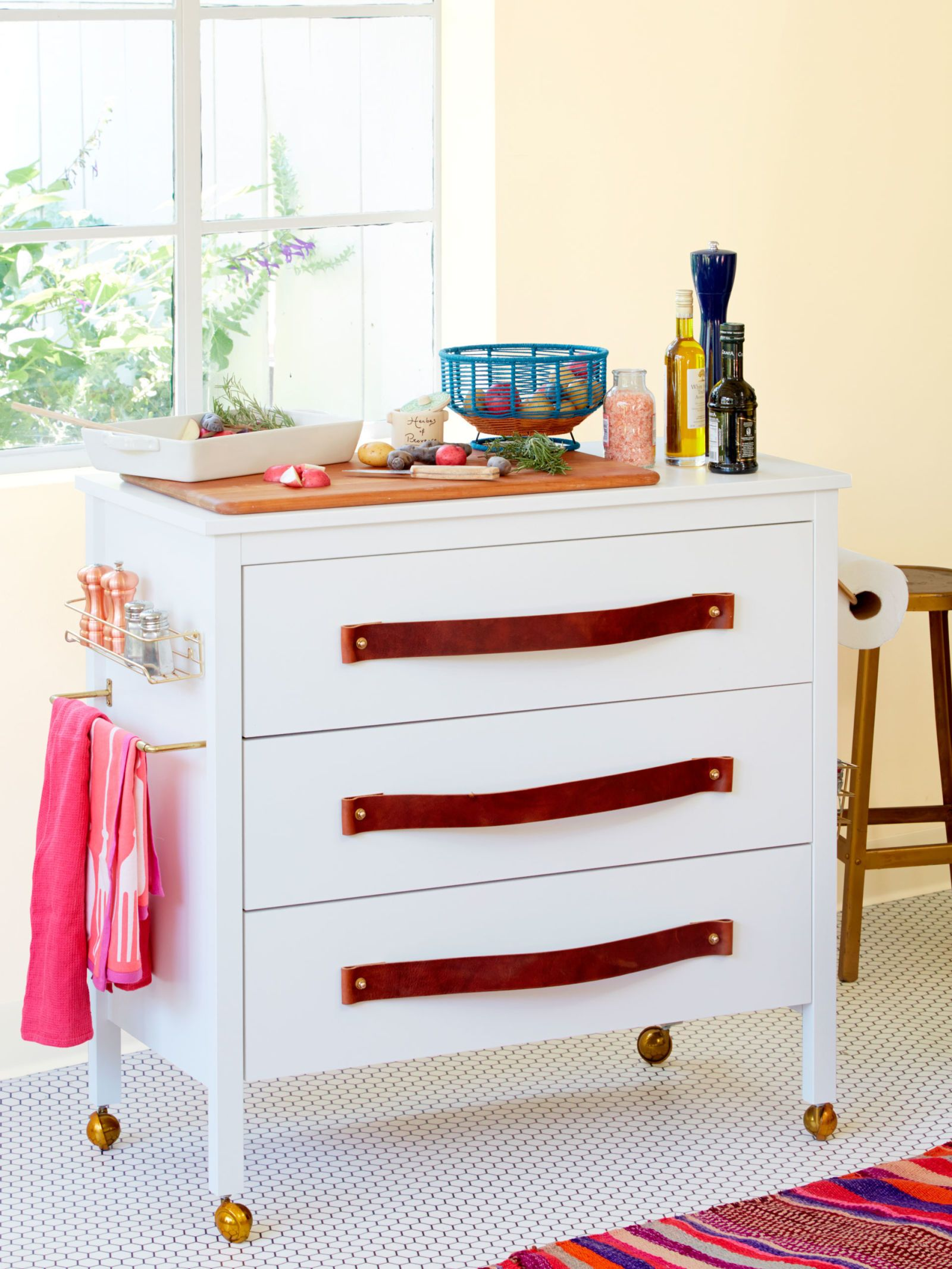 Ikea hack alert turn a dresser into a kitchen island house ideas