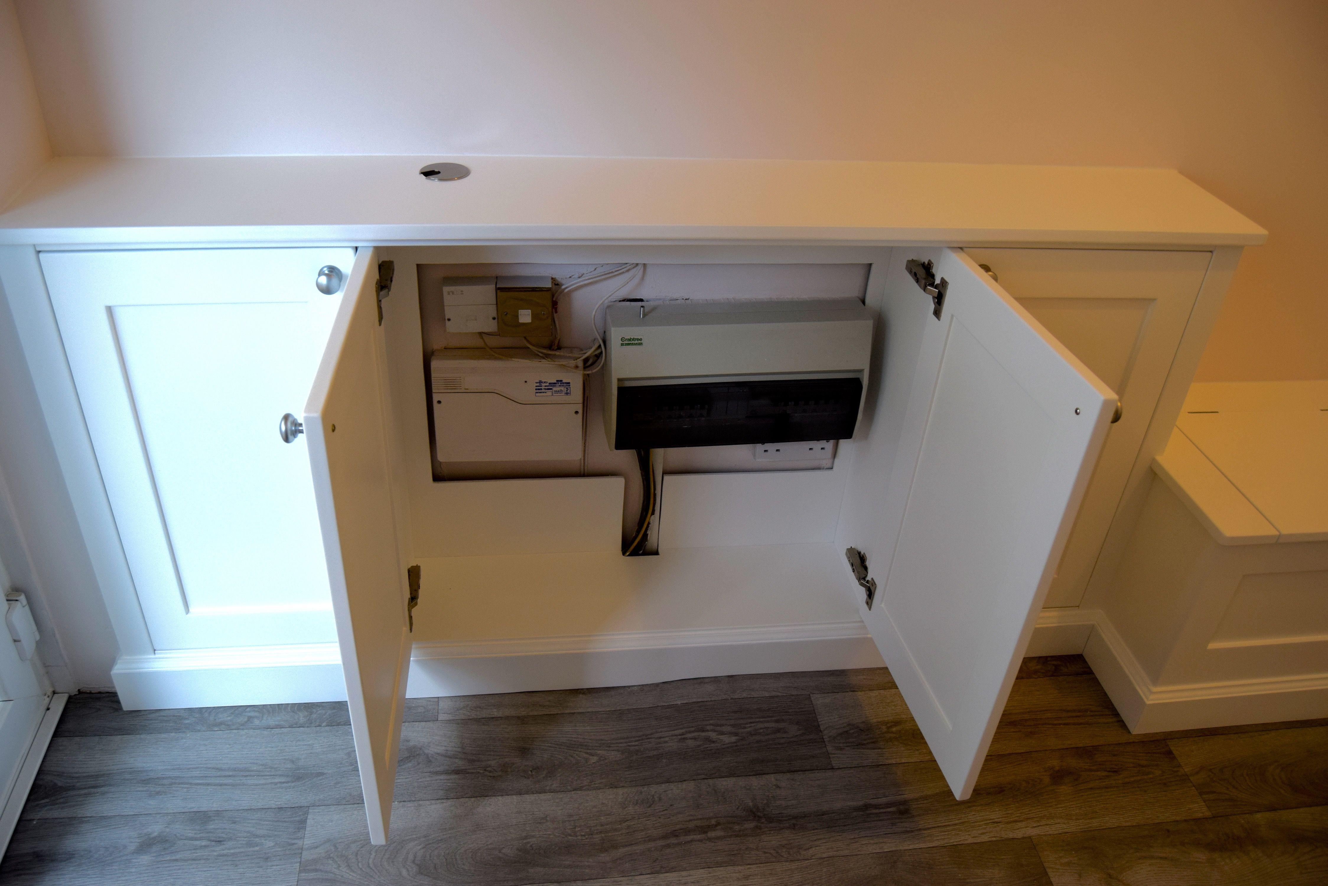 fuse box cabinet made to measure cabinets www gillmartinez com rh pinterest  co uk