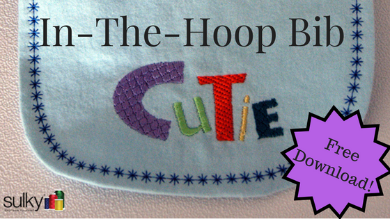 Machine Embroidery Series – A Free In-The-Hoop Project!