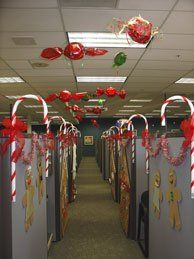 Christmas Decorations Cube Decore Office Christmas Decorations