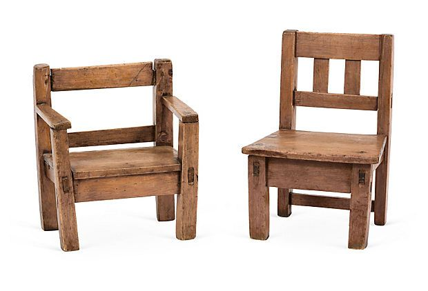 Antique Guatemalan Chairs 7 L X 10 W X 13 H 11 L X 11 W X 16 H 500 00 299 00 Onekingslane Com With Images Lane Furniture Chair Furniture