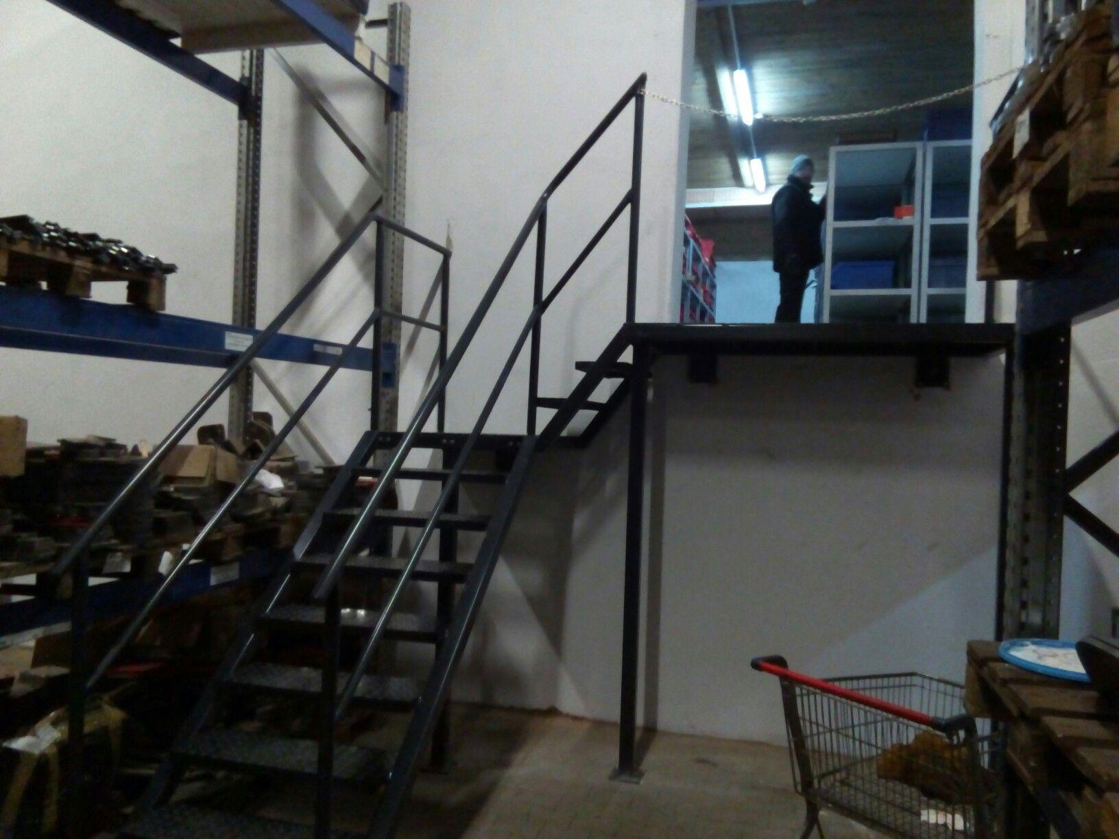 Schody Magazynowe/warehouse Stairs.