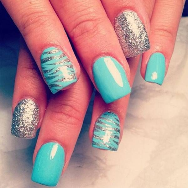 Awesome 20 Stylish DIY Nail Designs Ideas 2015 #diynails #nailart #naildesign2015
