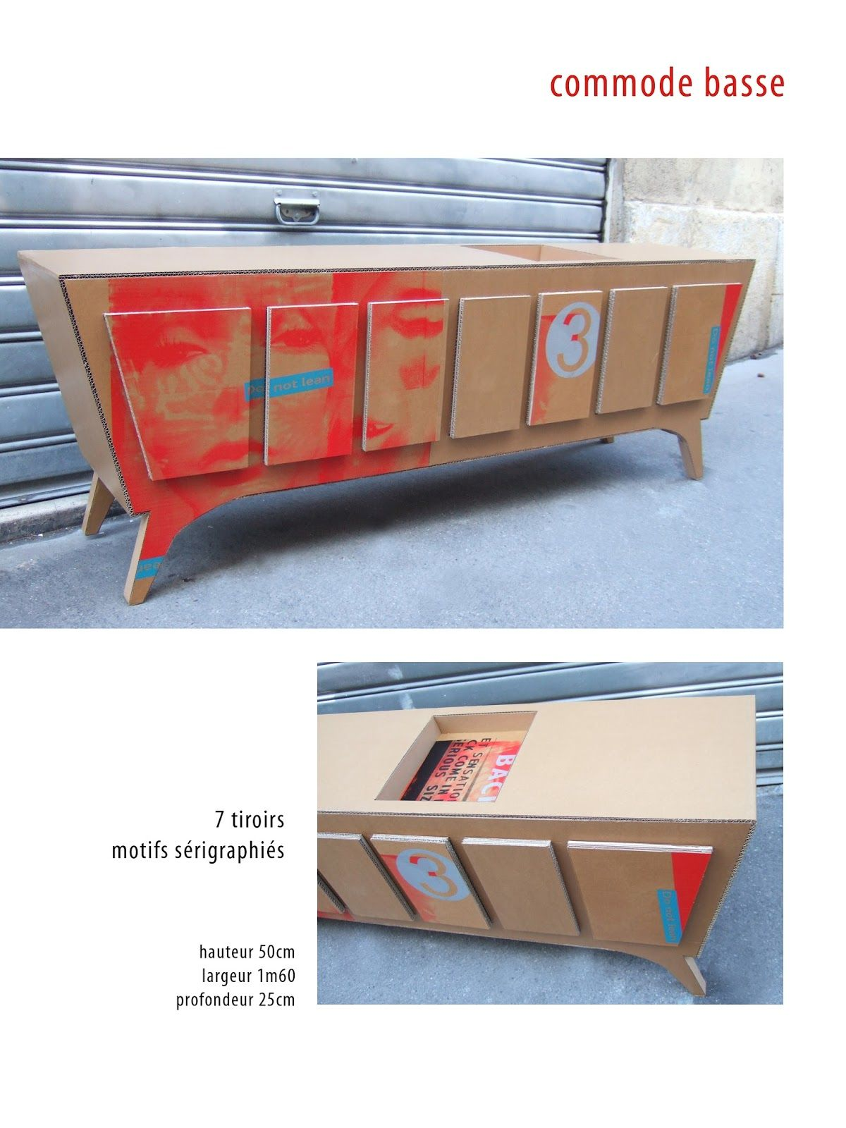 Commode En Carton Commode En Carton Cartóndemisamores Pinterest