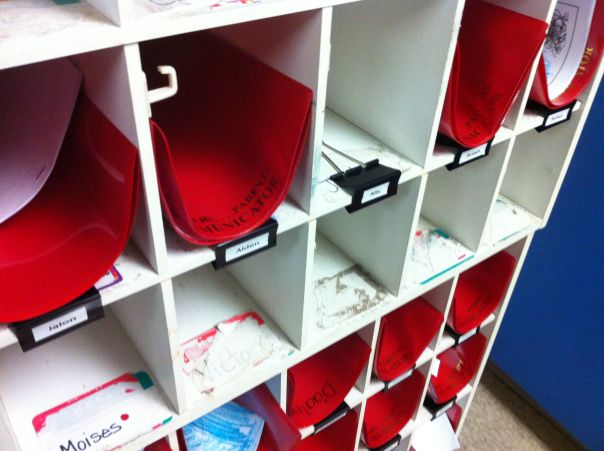 Kinder Garden: Loving My Large Binder Clips On Mailboxes! Kristen's