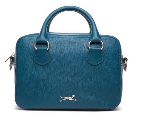 Bolso sobre pelo azul | Uñas azules, Bimba y lola y Pelo azul
