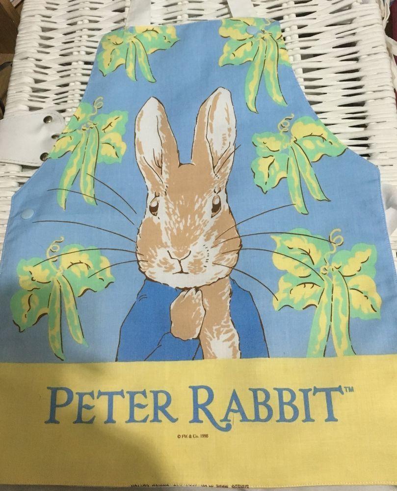Beatrix potter peter rabbit childs apron kids apron