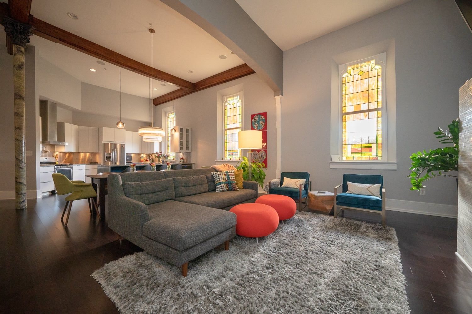This Funky 650K Indianapolis Apartment Used to Be a