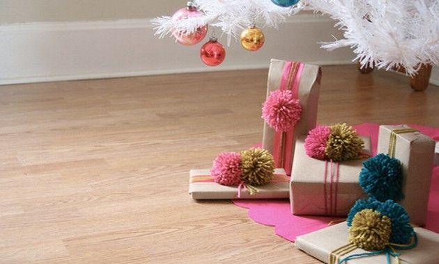 Pompones para decorar tus regalos.jpg