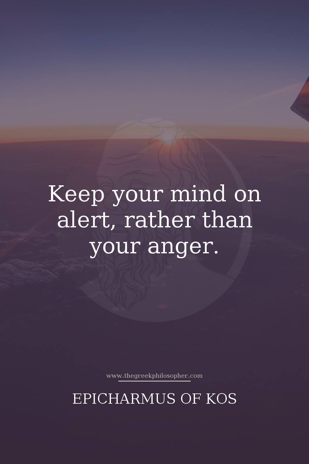 Epicharmus of Kos on Anger. Advice and wisdom from the ancient Greek  philosophers for a less stressful, hap… | Greek philosophers, Ancient greek  philosophers, Anger