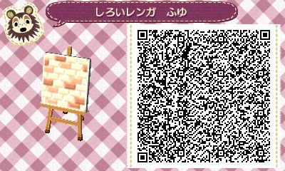 tile winter for two colors of brick (Animal Crossing Tobidase) forest diary of cocoa village! !