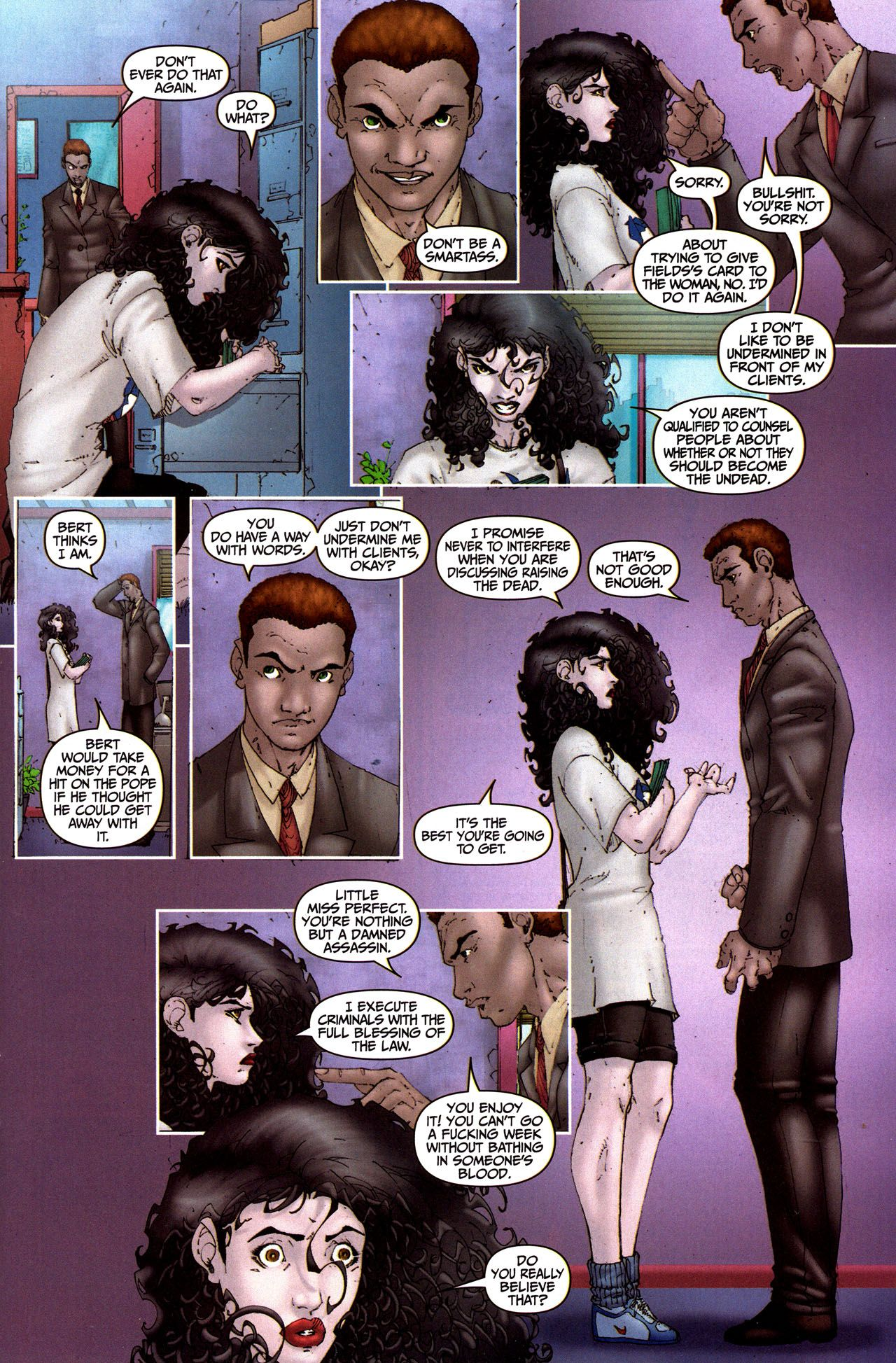 Anita Blake, Vampire Hunter: Guilty Pleasures 5 Page 9