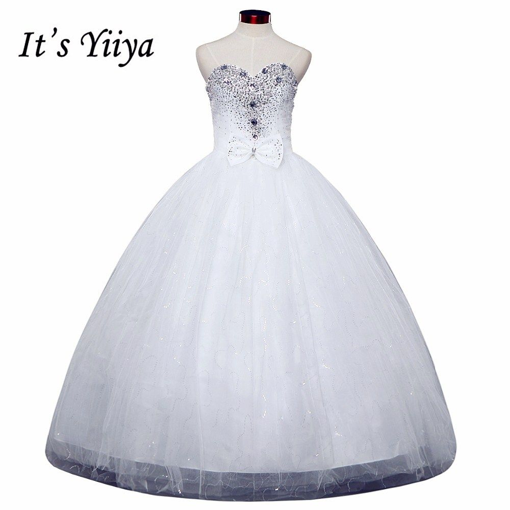 Short wedding dresses plus size  Click to Buy ucuc Free shipping YiiYa red wedding gowns cheap plus
