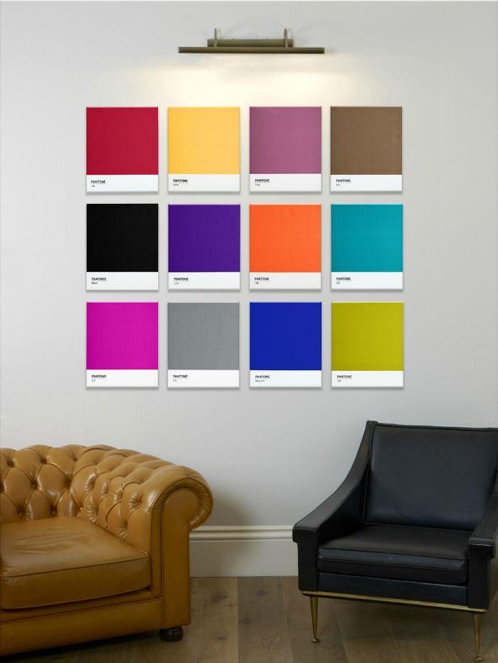 7c533ceb62bd Contemporary Wall Art from Pantone | Print inspiration | Office art ...
