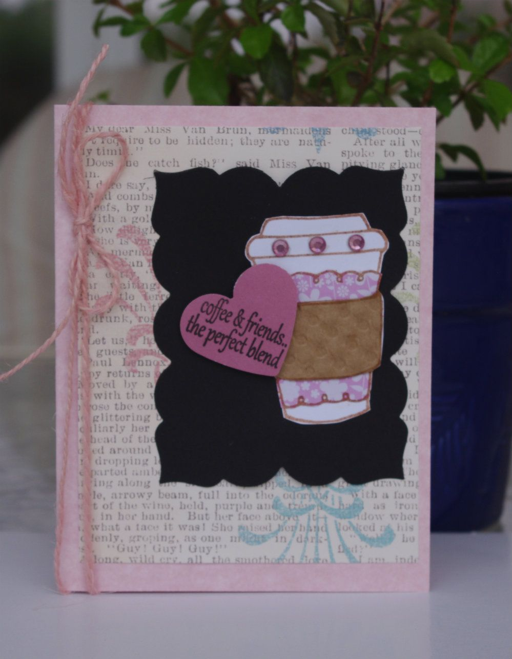 Handmade Cards By Helen: Coffee Lovers- Summer Hop