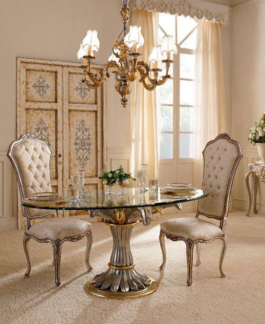 Luxury Dining Room Wood Furniture, Luxury Dining Room Furniture Italy