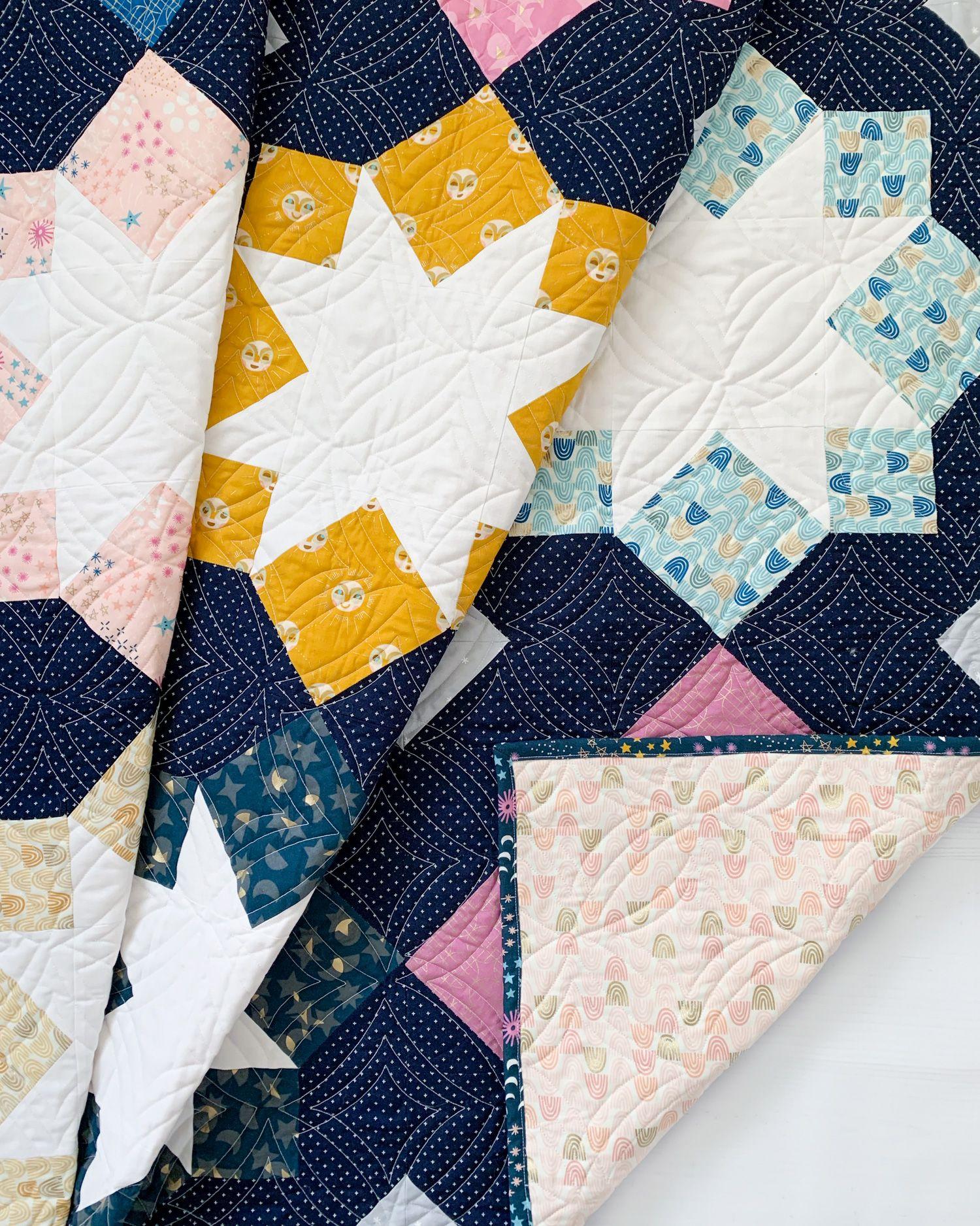 Stellar Mosaic Quilt Pattern